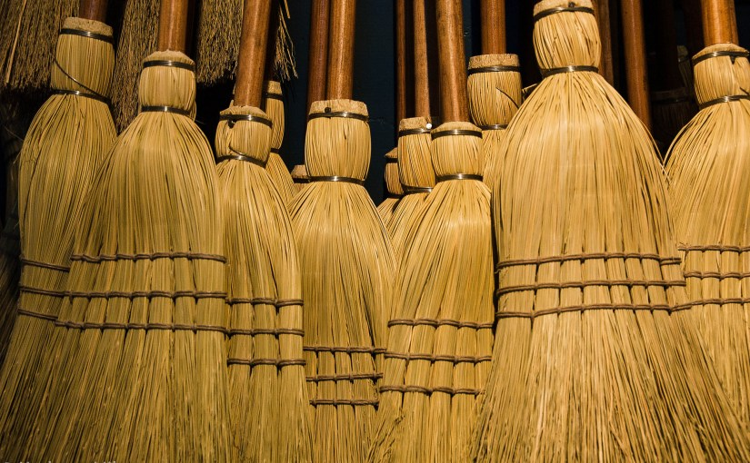 Get our your brooms!