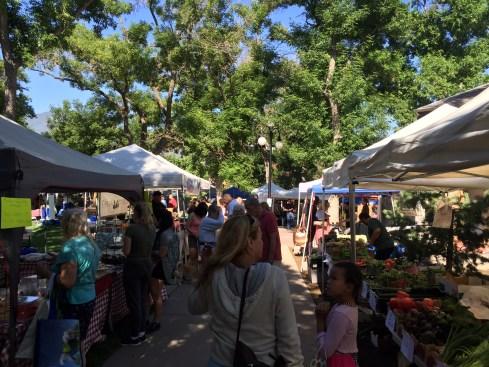 Farmer's Market in Colo. Spgs.