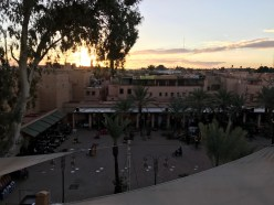 from the Kosy Bar at sunset