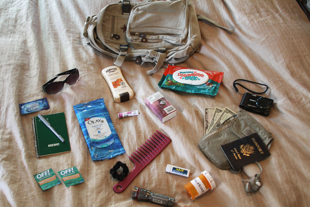 safari packing