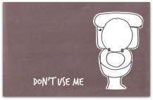 potty toilet draw