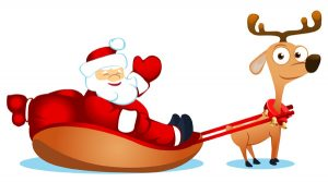 free-vector-vector-cute-santa-claus-elk-and_005744_illustration-of-deers-with-sledge3