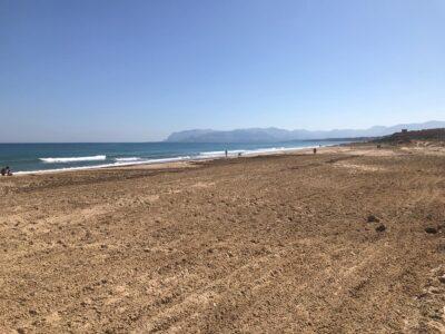 Castellammare del Golfo, bonificati e recuperati oltre 200 metri della Playa