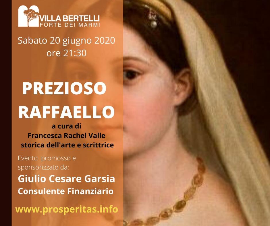 L'arte torna di scena a Villa Bertelli con l'omaggio a Raffaello Sanzio