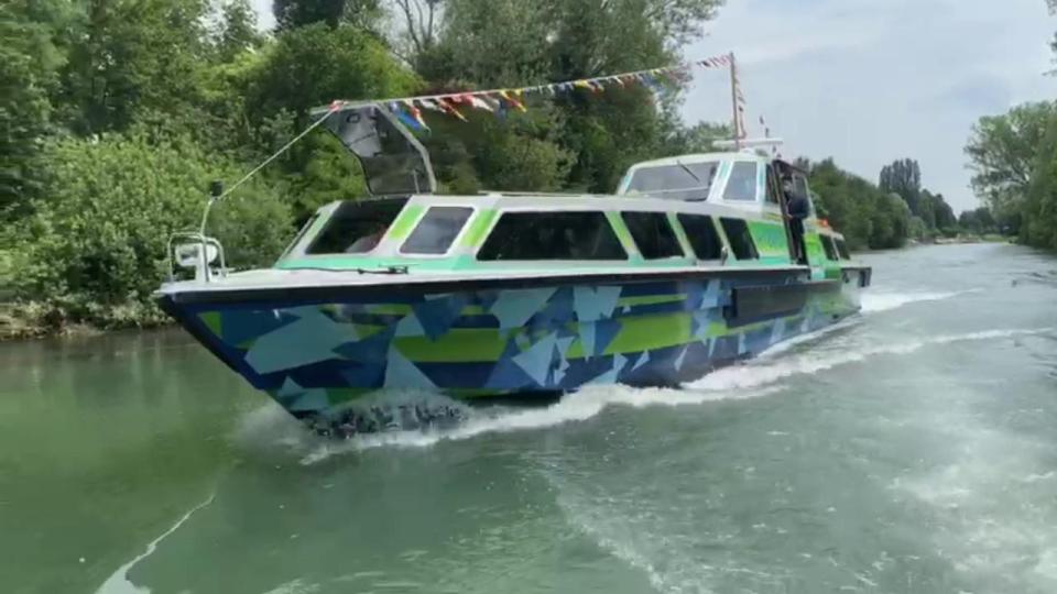 Green Power, varata laprima imbarcazione ibrida artisticaa Venezia