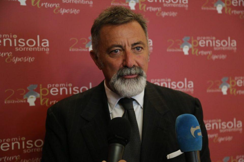 Luca Barbareschi presidente sezione Teatro Premio Penisola Sorrentina