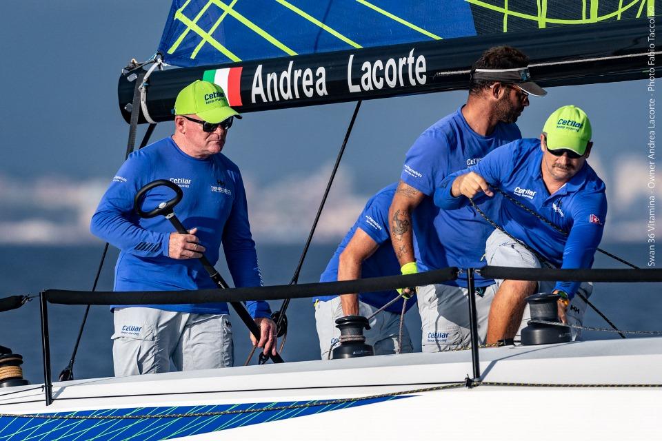 Scarlino, alla World Gold Cup ottima prova del Club Swan 36 Vitamina Cetilar