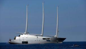mega yacht sailing yacht a