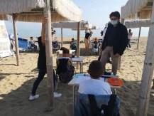 covid vasto studenti spiaggia 2