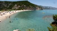 Cala Luna, sfigurata dall'alluvione una delle spiagge più belle della Sardegna
