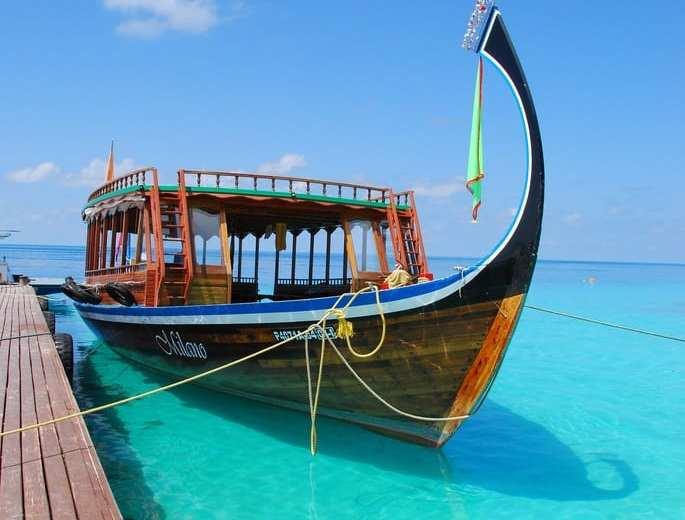 Un soggiorno alle Maldive