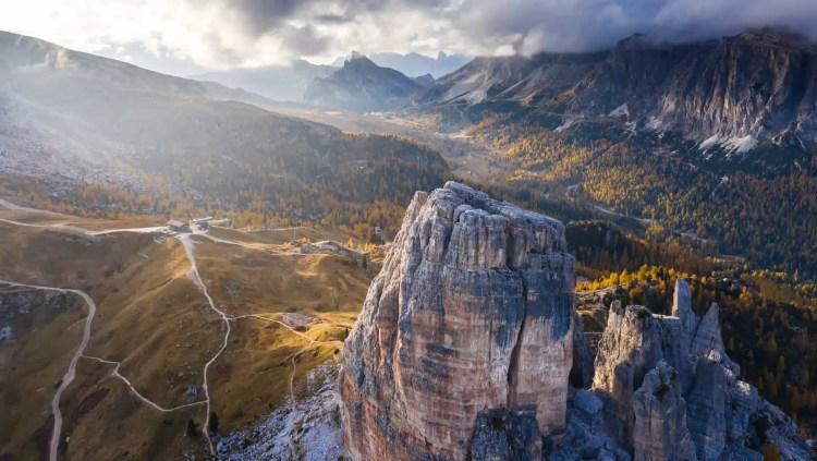 cortina le montagne