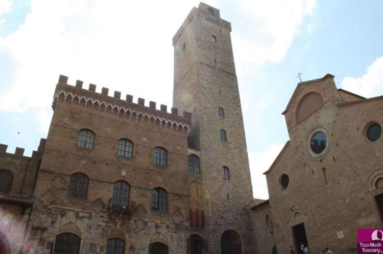 Piazza Duomo San Gimignano
