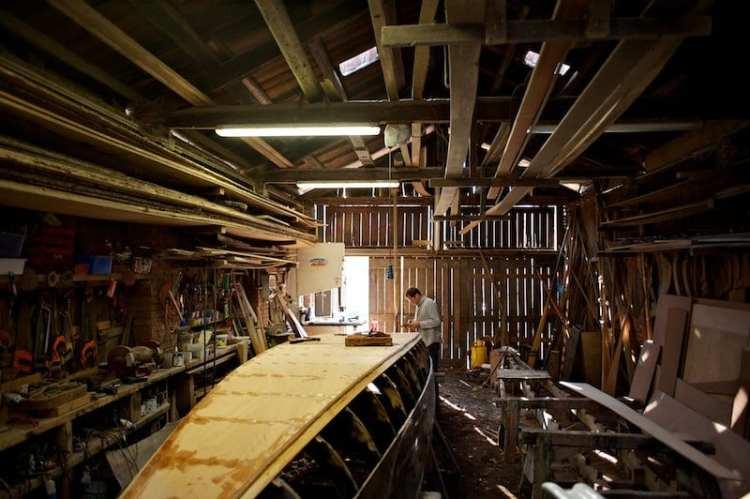 costruzione e la riparazione delle gondole a venezia