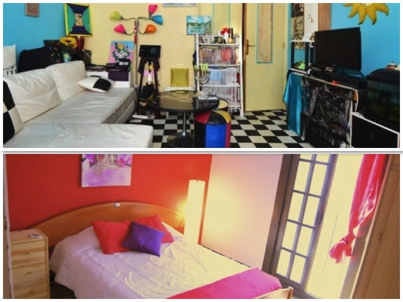Due esempi di camere che si possono trovare sul sito