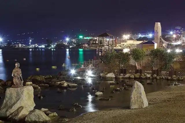 Lungo mare di Reggio Calabria