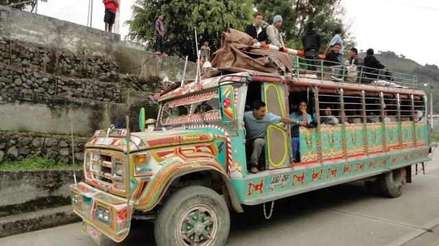 Viaggio in autobus