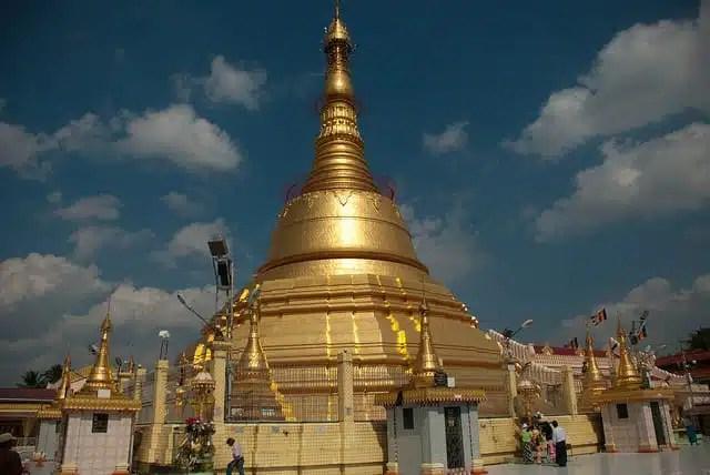 Botataung Pagoda, Yangon, Myanmar