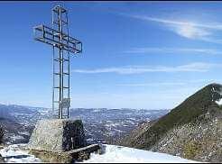 Panoramica con veduta dal Monte Calvi