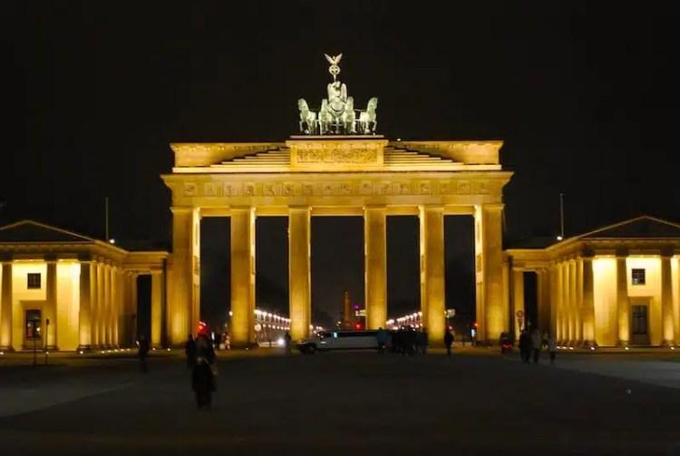 Porta di Brandeburgo - Berlino, Germania