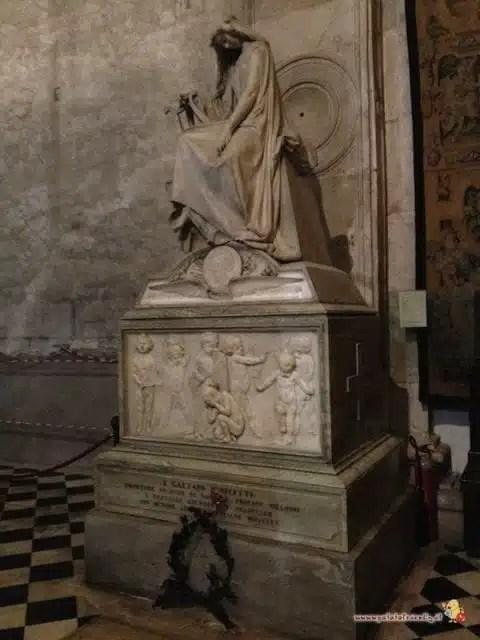 La tomba di Gaetano Donizzetti