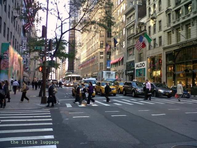 La Fifth Avenue di New York
