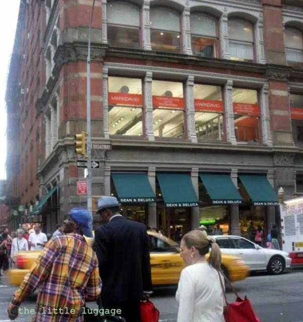 Il Dean & DeLuca nel quartiere di Soho a New York