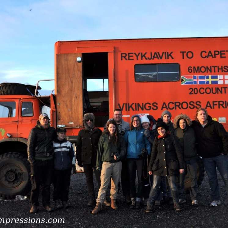 La squadra di Vikings across Africa