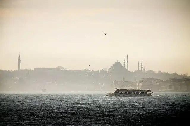Istanbul, vista sul Bosforo (foto di bass_nroll)