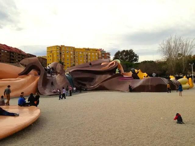 Il Gulliver dove i bambini possono giocare