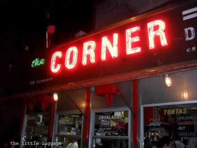Il ristorante La Esquina – The Corner a Manhattan