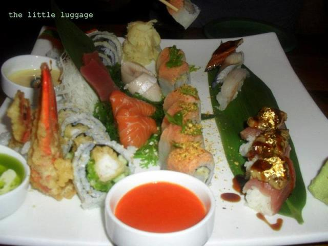 Un piatto tipico del ristorante Sushisamba nel West Village