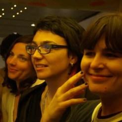 Emanuela, Arianna e Serena in radio