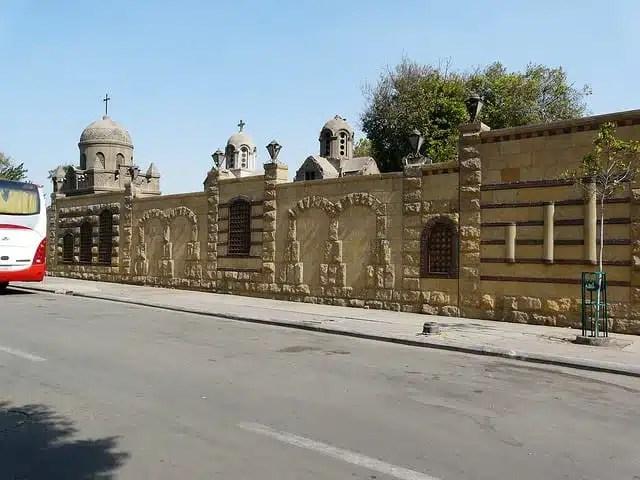 Mari Girgis, il quartiere copto del Cairo (foto di Jodi Kurtz)