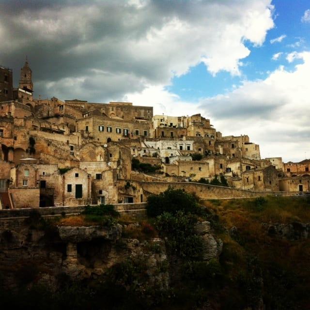 La città di Matera in Basilicata