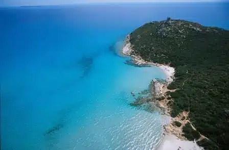 Belle spiagge in Sardegna. Porto Giunco