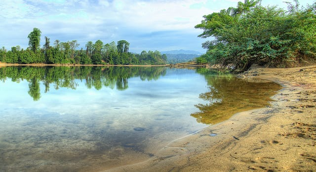 Ratnagiri, fiume Se San (foto di Ethan Crowley)
