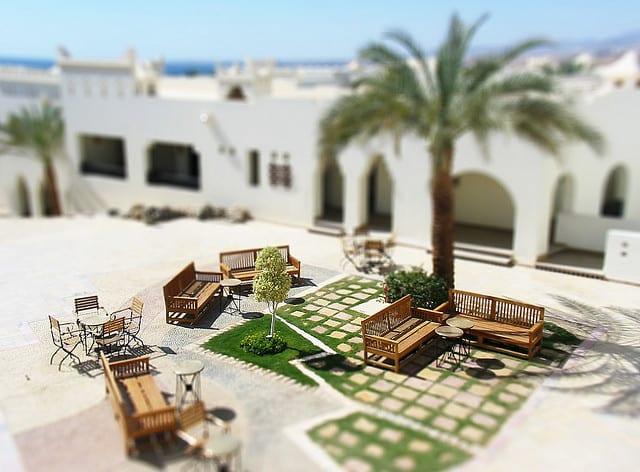 Per la serie: andare sul Mar Rosso e non riuscire a vedere oltre il proprio albergo a Sharm el Sheikh... (foto di Jeremy Page)