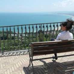 Panorama sul mare di Vasto