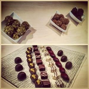 Degustazione di cioccolato