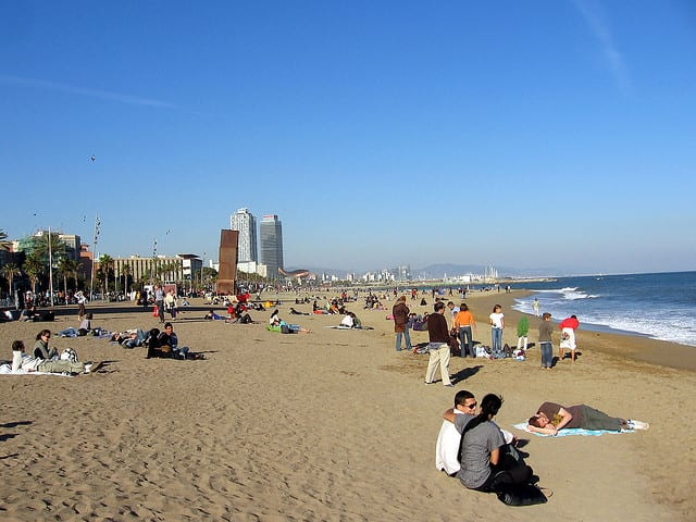 Barcellona - spiaggia
