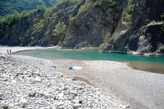 Spiagge fluviali - Fiume Trebbia