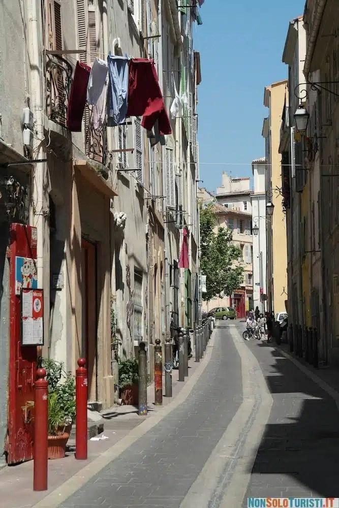 Marsiglia - Il quartiere di Panier