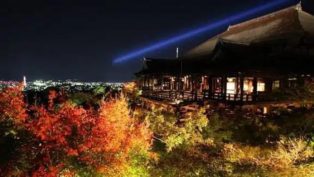 Il tempio di Kiyomizu-dera, Kyoto
