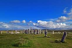 Callanish Stone Circle - Isola di Lewis, Scozia
