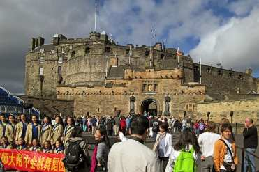 Edimburgh Castle - Edimburgo, Scozia