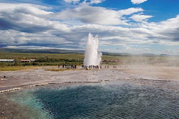 Strokkur, geyser - Islanda