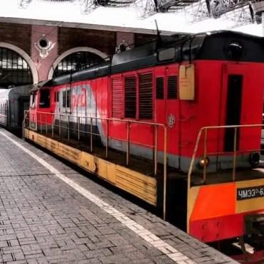 Transiberiana - Treno