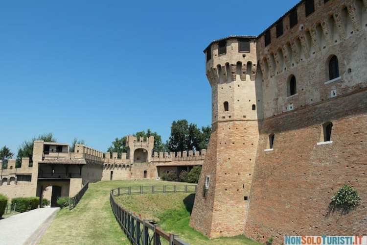 Castello di Gradara, Italy, Marche
