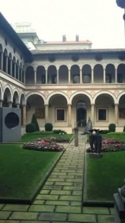 Chiostro di Santa Marta - Bergamo, Italy